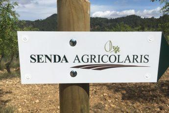 """Señalización de la ruta circular: """"Senda AGRICOLARIS"""""""